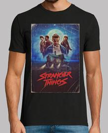 Stranger Things poster retro