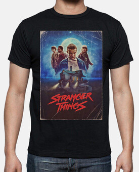 Stranger Things poster retro