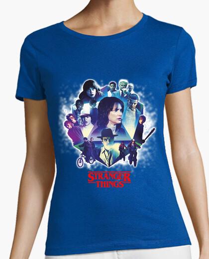 Camiseta Stranger Things Serie - Personajes
