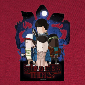 T-shirt Strangers Things by Calvichi's [WEB]