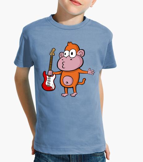 Vêtements enfant stratocaster singe enfants