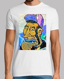 Street Art - Camisetas Hombre