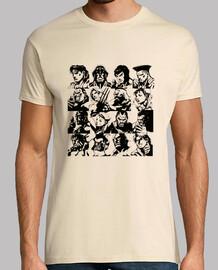 Street Fighter Comic Remix