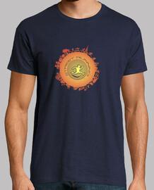 street runner hombre camiseta