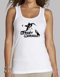 Street Workout Free Woman