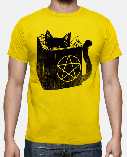 stregoneria gatto t-shirt