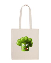 stressato fumetto divertente borsa broccoli