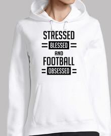 stressé béni et le football obsédé