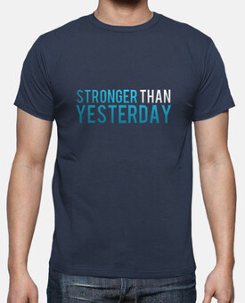 Stronger than yesterday logo