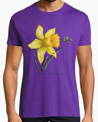 Tee-shirt STU avenir botanique die s: jonquilles