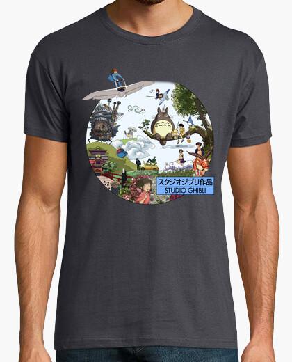 Tee-shirt studio ghibli - morganaart