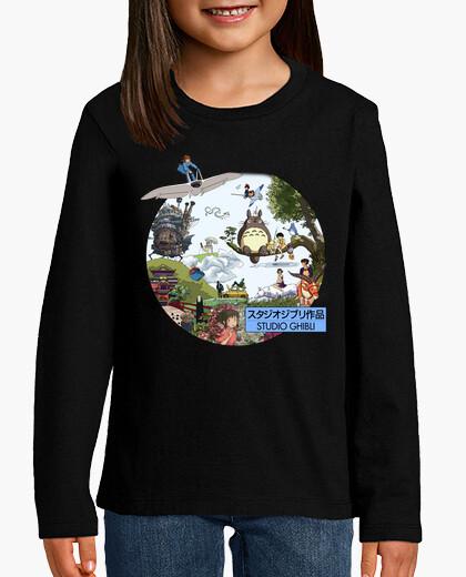 Ropa infantil Studio Ghibli - MorganaArt