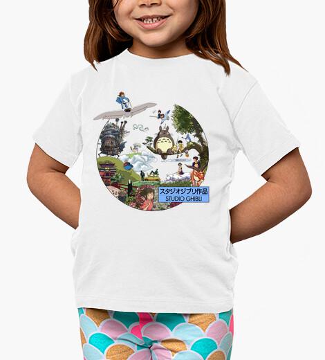 Vêtements enfant studio ghibli - morganaart