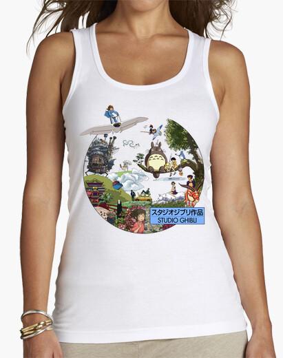 Camiseta Studio Ghibli II - MorganaArt