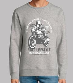 style de vie de motard