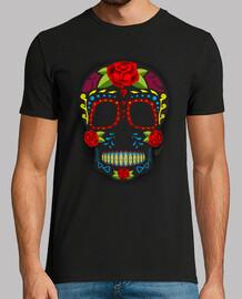 Style mexicain de  tête de mort  de sucre !!!