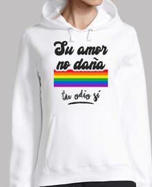 Su Amor No Daña, Tu Odio Sí (Fondo Clar