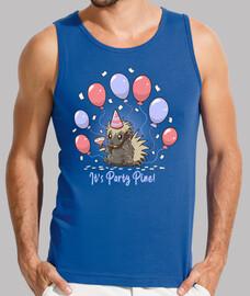 su fiesta de pino - fiesta puercoespín - tanque de hombres