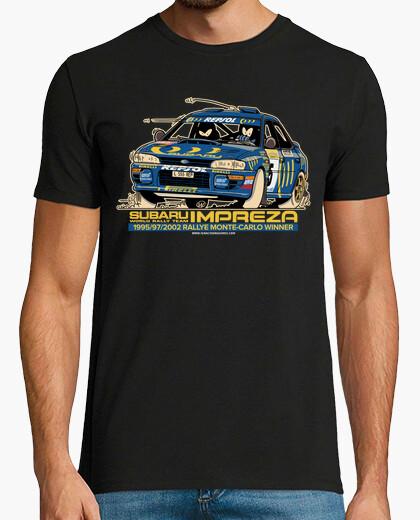 Camiseta SUBARU IMPREZA Montecarlo edition