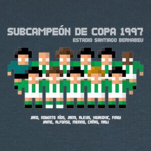 Tee-shirts Subcampeón de Copa 1997