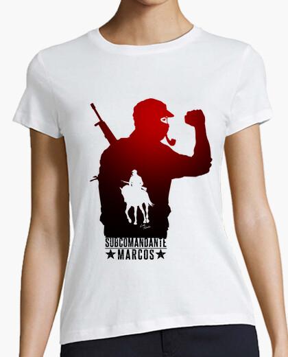 Camiseta Subcomandante Marcos - Chica