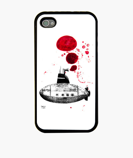 Funda iPhone submarí dos
