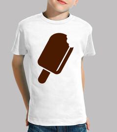 sucette à la crème glacée au chocolat