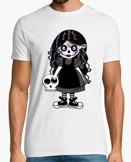 Tee-shirt sucre fille de crâne