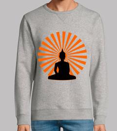 Sudadera Buda Sol Brillante