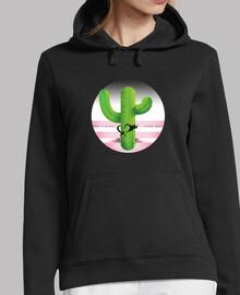 Sudadera Cactus Mujer