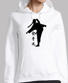Sudadera chica - Karate do chica