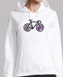 Sudadera chica Bicicleta