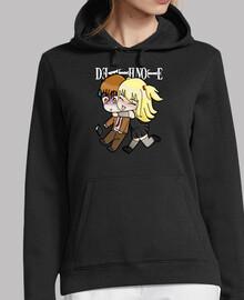 Sudadera chica Death Note