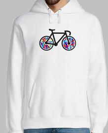 Sudadera chico Bicicleta