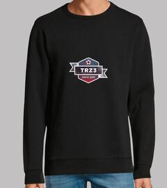 Sudadera chico TRZ3 Trillizos0201 Negra