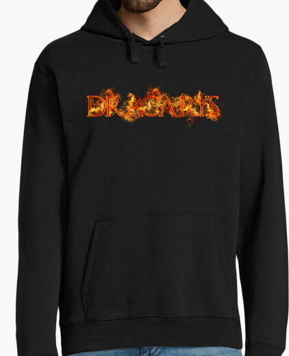 Sudadera Dracarys fuego