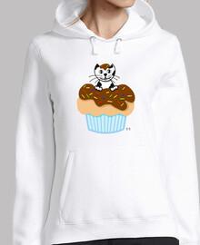 Sudadera Gato Muffin