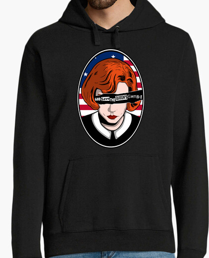 Sudadera God save the queens gambit Version USA