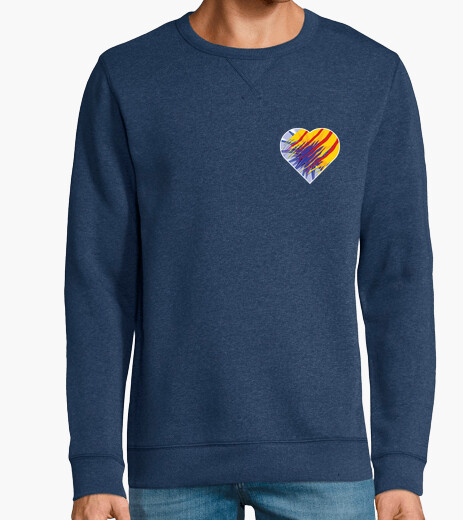 Sudadera Heart for Catalunya