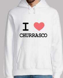 Sudadera I heart churrasco