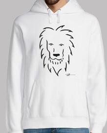 sudadera león hombre