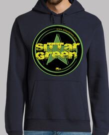 Sudadera logo Sittar 2017 green