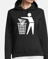 Sudadera mujer con capucha