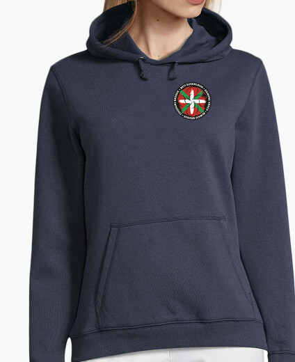 Sudadera Mujer, jersey con capucha - Beti-Always-Toujours-Siempr
