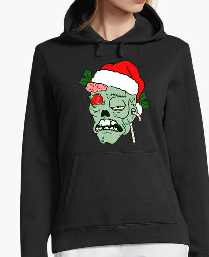 Sudadera mujer Navidad Zombie