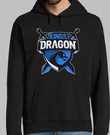 Sudadera Negra Kings Dragon
