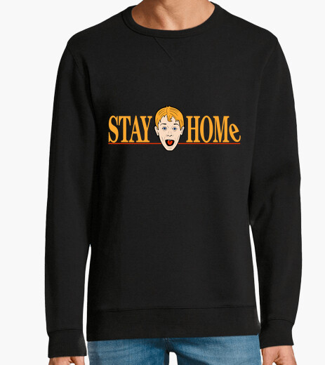 Sudadera Stay Home