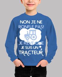 Sueño que soy un tractor
