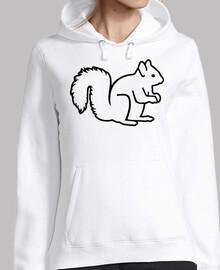 süßes Eichhörnchen