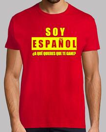 suis espagnol